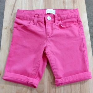 Place Long Pink Jean Shorts WT2